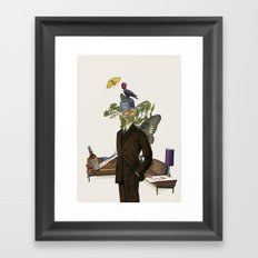 Scotch gives you wings Framed Art Print