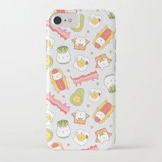 Cat food and succulent iPhone 7 Slim Case