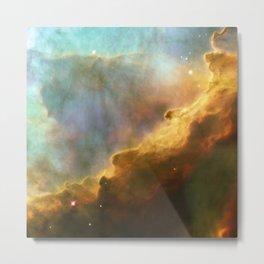Omega Swan Nebula Constellation Sagittarius Galaxy Space Metal Print