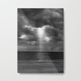 Just a ray of light Metal Print