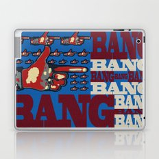 Bang. Bang. Bang. Laptop & iPad Skin