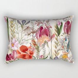 Bright spring field. Romantic pattern Rectangular Pillow