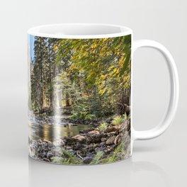El Capitan Fall Colors And Merced River 10-20-18  Coffee Mug