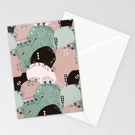 Four wheels green #homedecor Stationery Cards