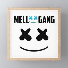 MARSHMELLO (MELLO GANG) Framed Mini Art Print