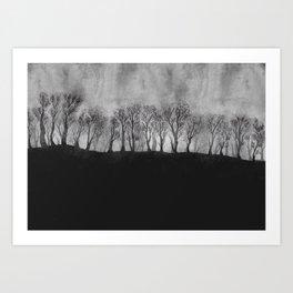 Into the Trees Art Print