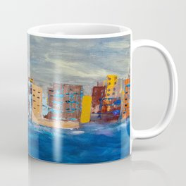 City Near The Sea Coffee Mug