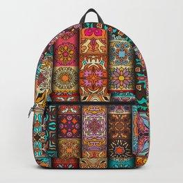 Boho Chic, Tribal Pattern Backpack
