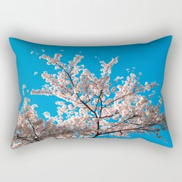 Cherry Blossoms in Washington, DC Rectangular Pillow