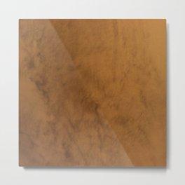 Color gradient and texture 57 beige Metal Print
