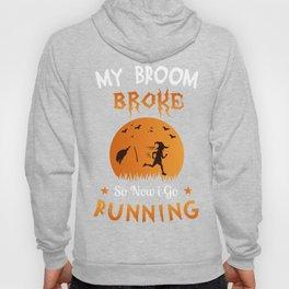 Halloween Shirt Gift for Runners Joggers Hoody