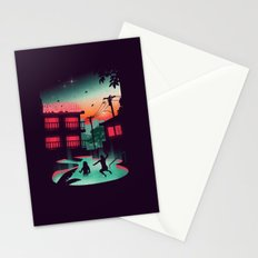 Night Swim Stationery Cards