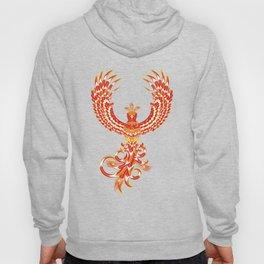Mythical Phoenix Bird Hoody