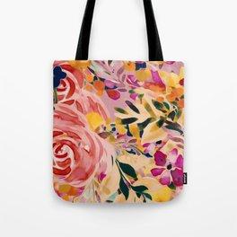 Sprinkle Blooms Tote Bag