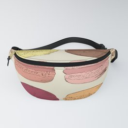 Macaroons Fanny Pack