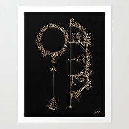 Spirit Portals Art Print