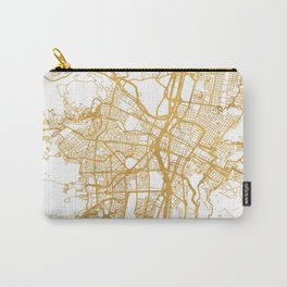 MEDELLÍN COLOMBIA CITY STREET MAP ART Carry-All Pouch