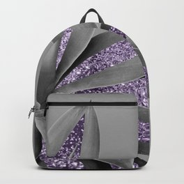 Agave Finesse Glitter Glam #4 #tropical #decor #art #society6 Backpack