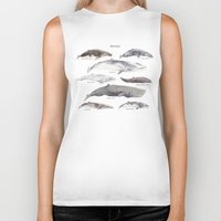 whales Biker Tanks featuring Whales by BySamantha | Samantha Ranlet