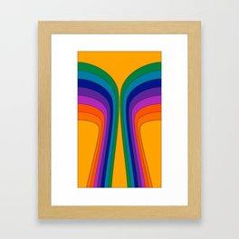 Summertime Wing Framed Art Print