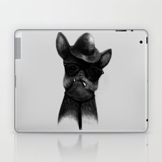 French Dog Blues Laptop & iPad Skin