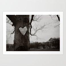 love on the quad Art Print