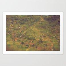 Miniature Madagascar Art Print