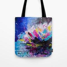 Night Lotus Tote Bag