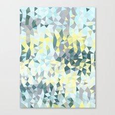 Spring Rain Tris Canvas Print