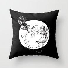 Fantails #2 Throw Pillow