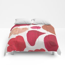 36   | 190408 Red Abstract Watercolour Comforters