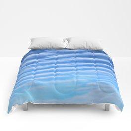 Blue Sky & Clouds Comforters