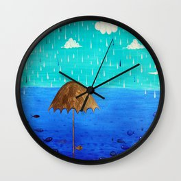 Sheltered Wall Clock