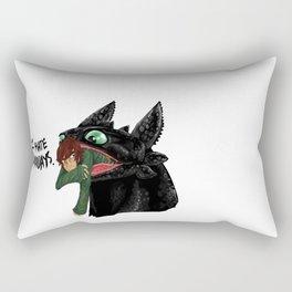 I Hate Mondays Rectangular Pillow
