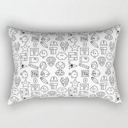 Super Mario PAttern Rectangular Pillow