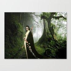 Diana - Mononoke Hime Canvas Print
