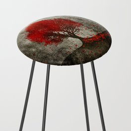 Red autumn. Counter Stool