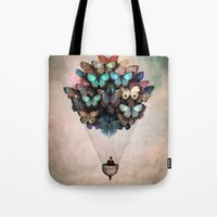 christian Tote Bags featuring Dream On by Christian Schloe