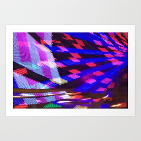 Night Light 102 Art Print