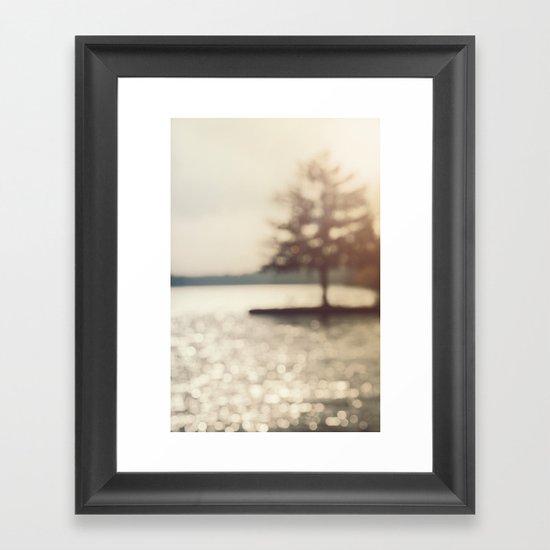 Silver Lake  Framed Art Print