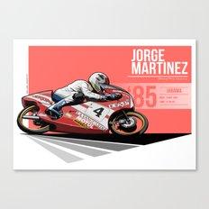 Jorge Martinez - 1985 Jarama Canvas Print