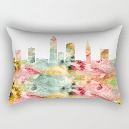 Cleveland Skyline Ohio Rectangular Pillow