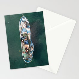 fishing today Stationery Cards