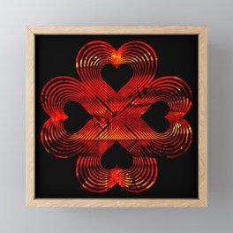 Valentines - Lucky in Love Framed Mini Art Print