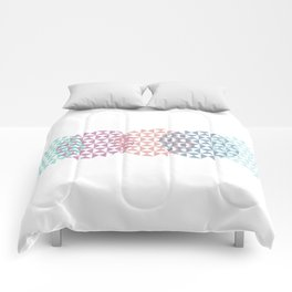 overlapping circles Comforters