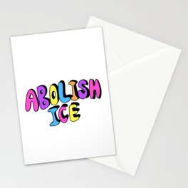 ABOLISH ICE Stationery Cards