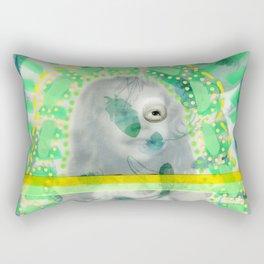 Incognito Girl Rectangular Pillow