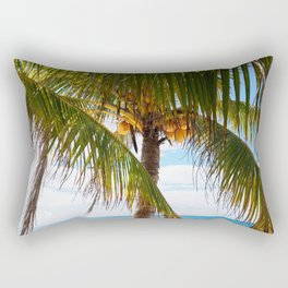 Fresh Palm Trees Rectangular Pillow
