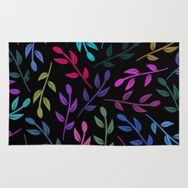 Colorful Leaves V Rug