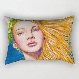 Queen of nature (Night) Rectangular Pillow